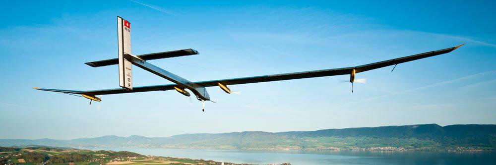 Solar Impulse 2, el primer avión propulsado únicamente con energía solar